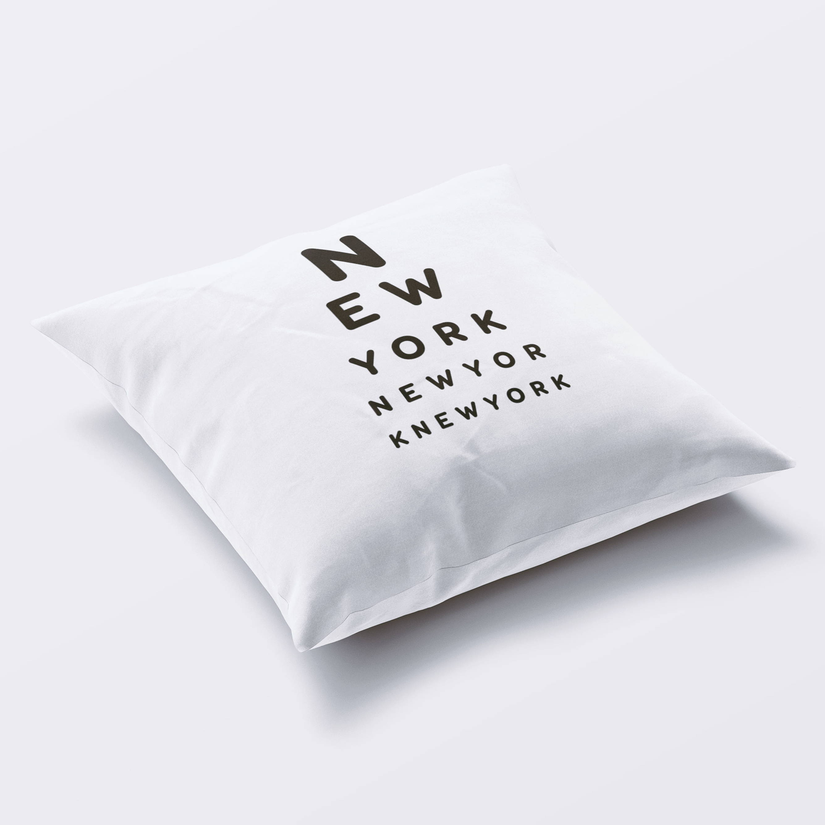 decorative throw pillow cover new york state