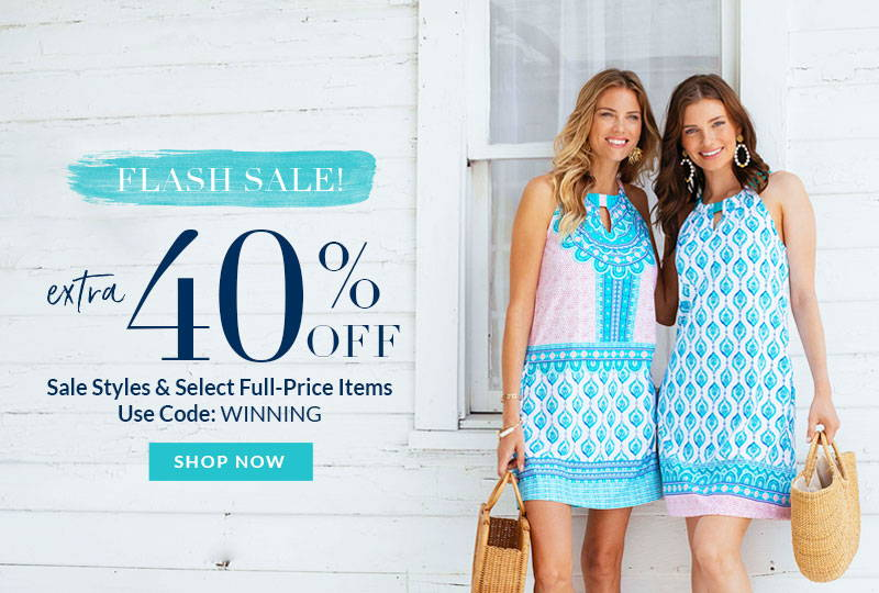 Extra 40% Off Sale Styles & Select Full Price Items with code WINNING