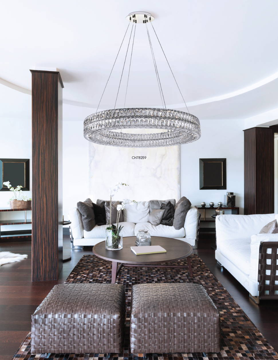 Kuzco Solaris Living Room Chandelier