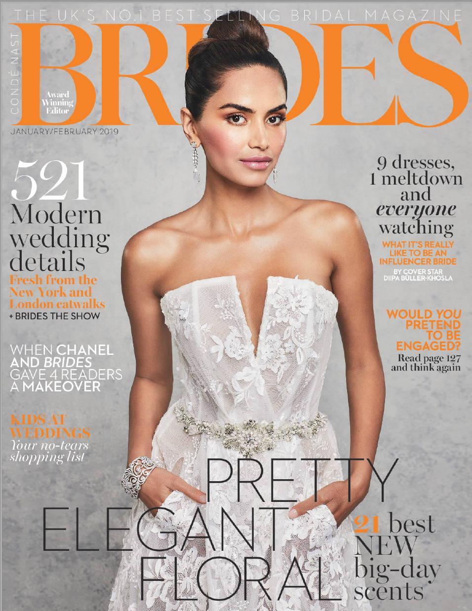 Camilla Gabrieli Brides Magazine Press