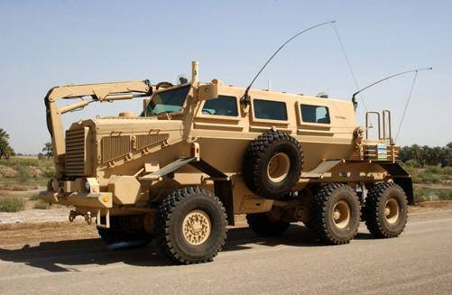 BUFFALO (MINE PROTECTED VEHICLE)