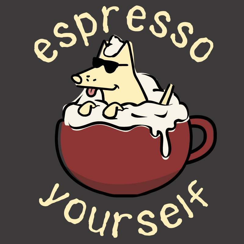 Shop teddy the dog espresso yourself