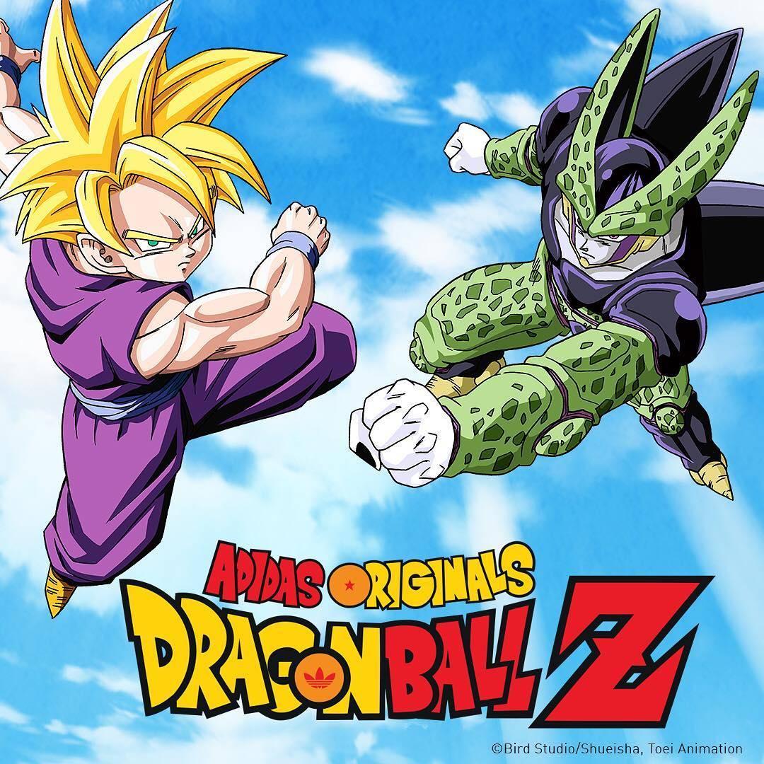 d7c3e3744a4 adidas Originals Releases Second Dragon Ball Z