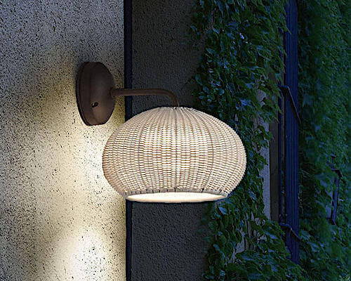 Bover Garota A-01 Outdoor Wall Lamp