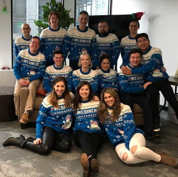 Webinerd Custom Christmas Sweaters