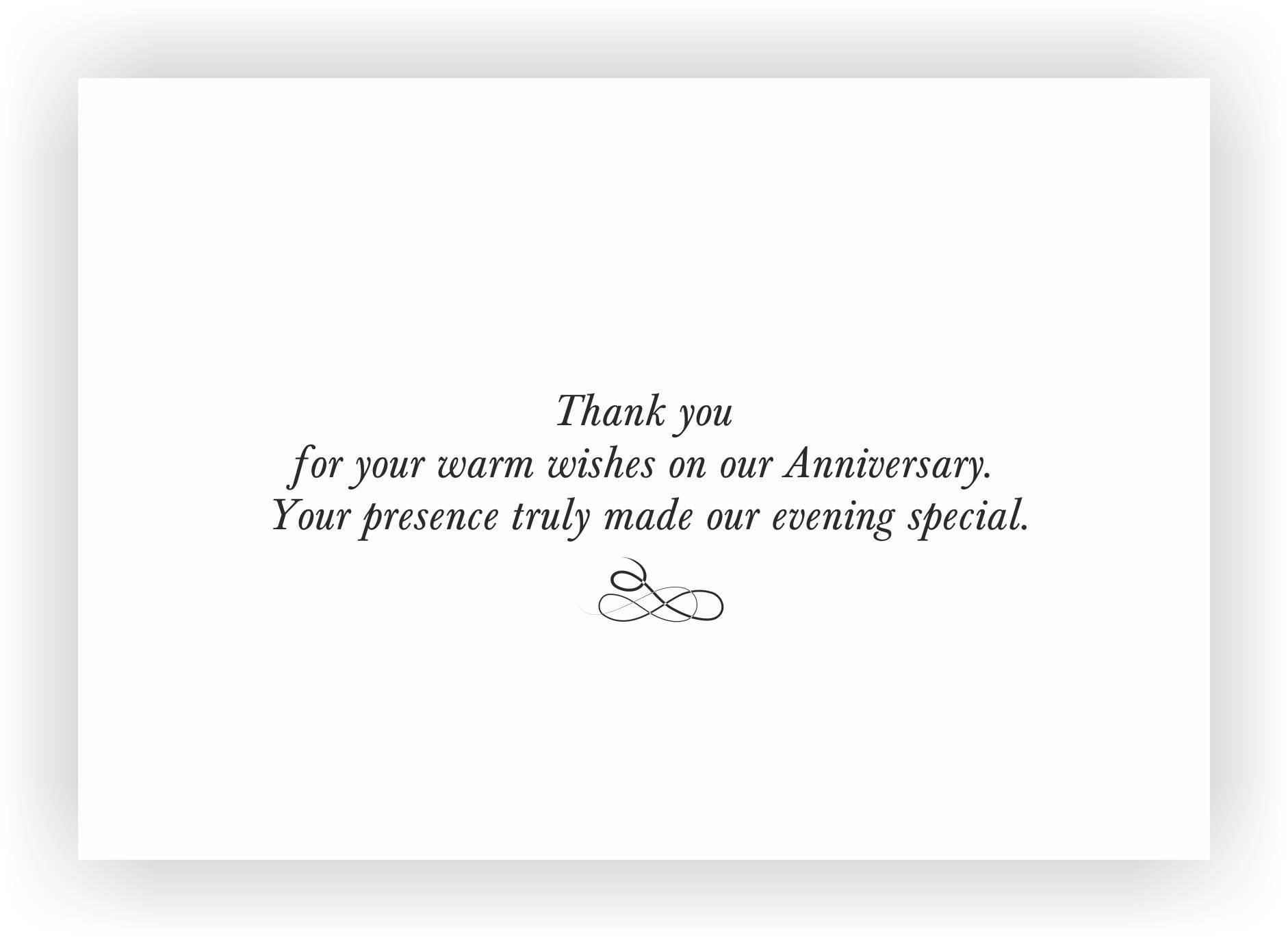 Wedding Anniversary Return Gift wording  Messages – CHOCOCRAFT