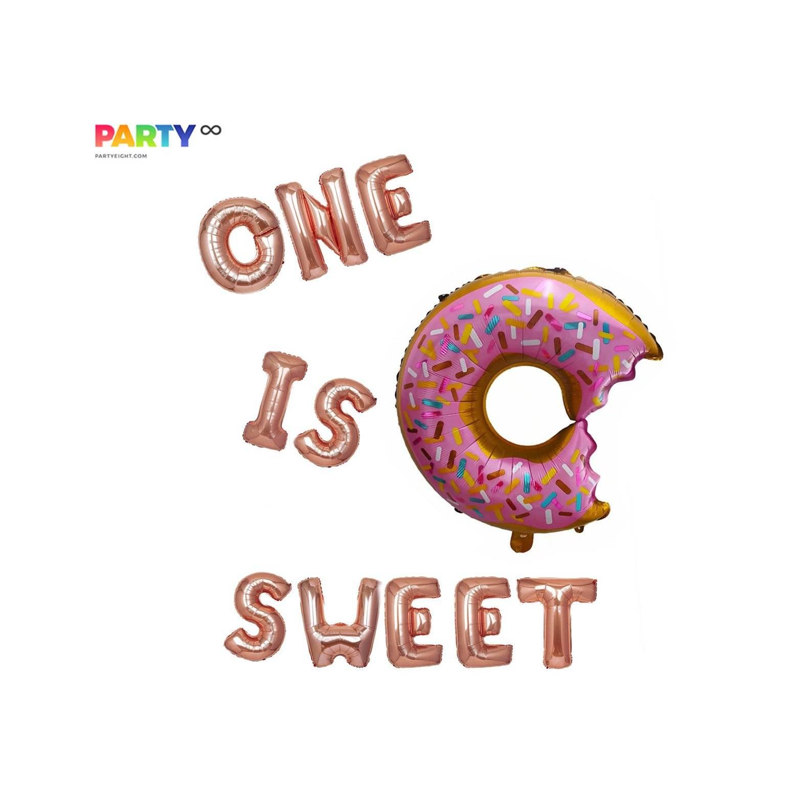 Giant Donut Balloon Set | 1st Birthday Decor | 1st Birthday Party | 1-year-old birthday party decor | Baby's Birthday Party