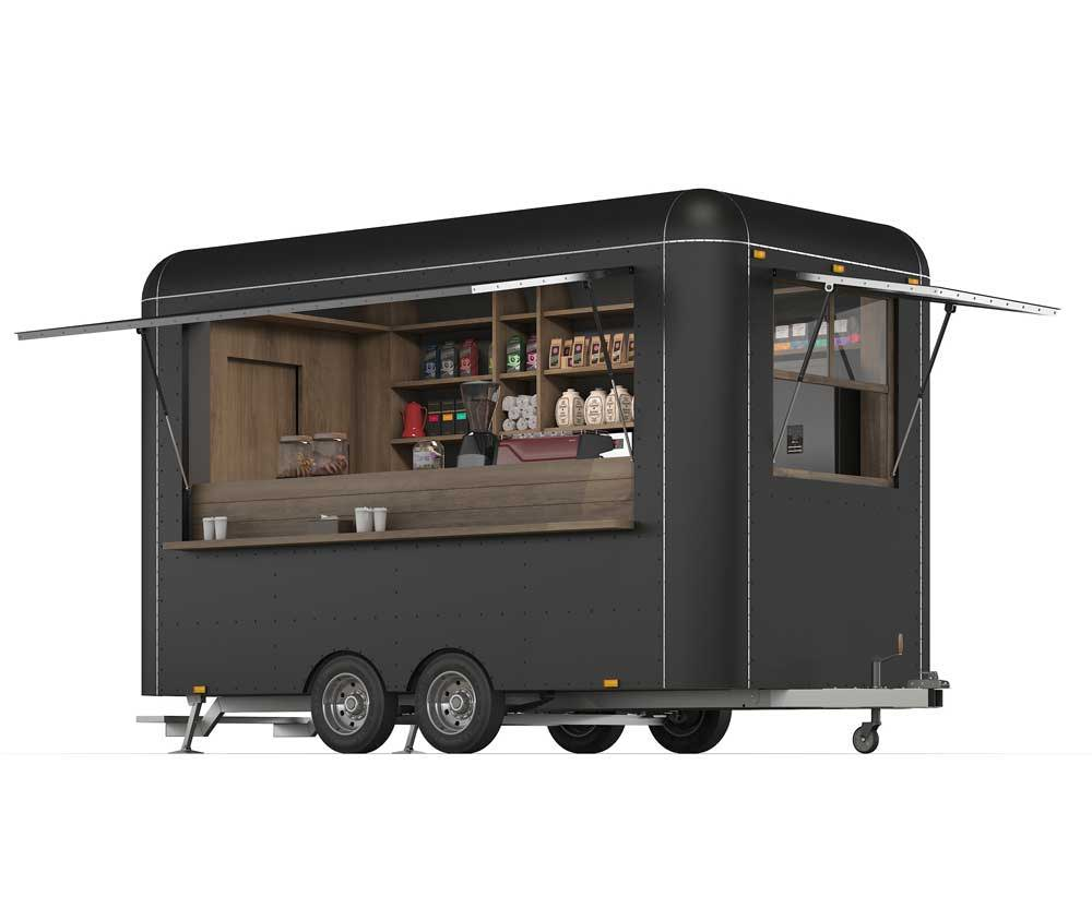 Food Trailer with Generator
