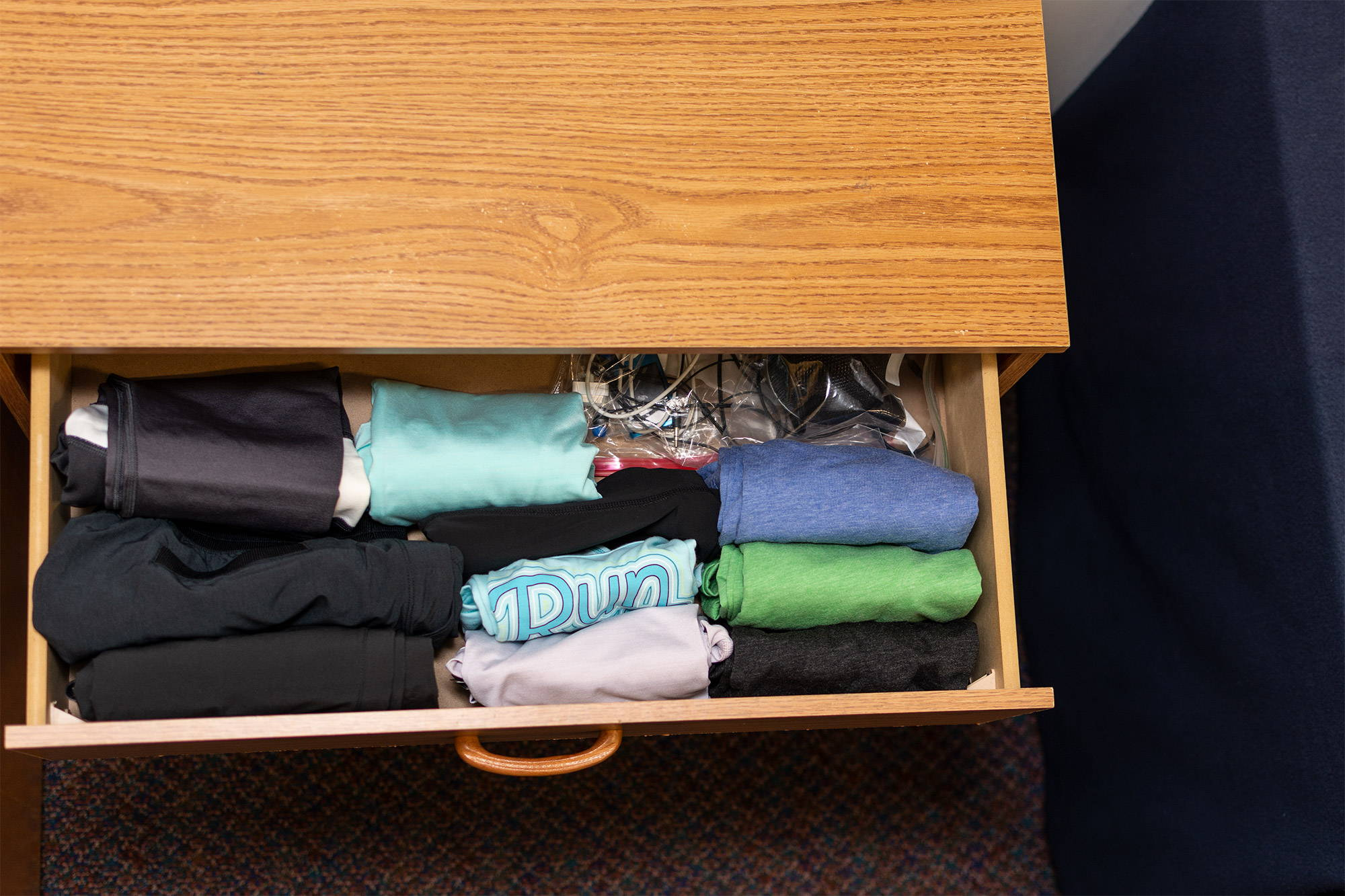 neat dresser drawer