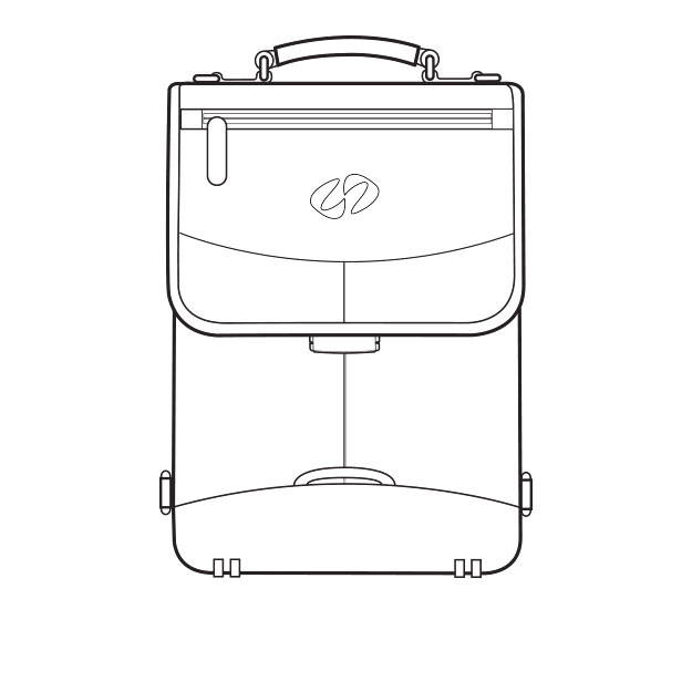 Mac Case leather briefcase drawing
