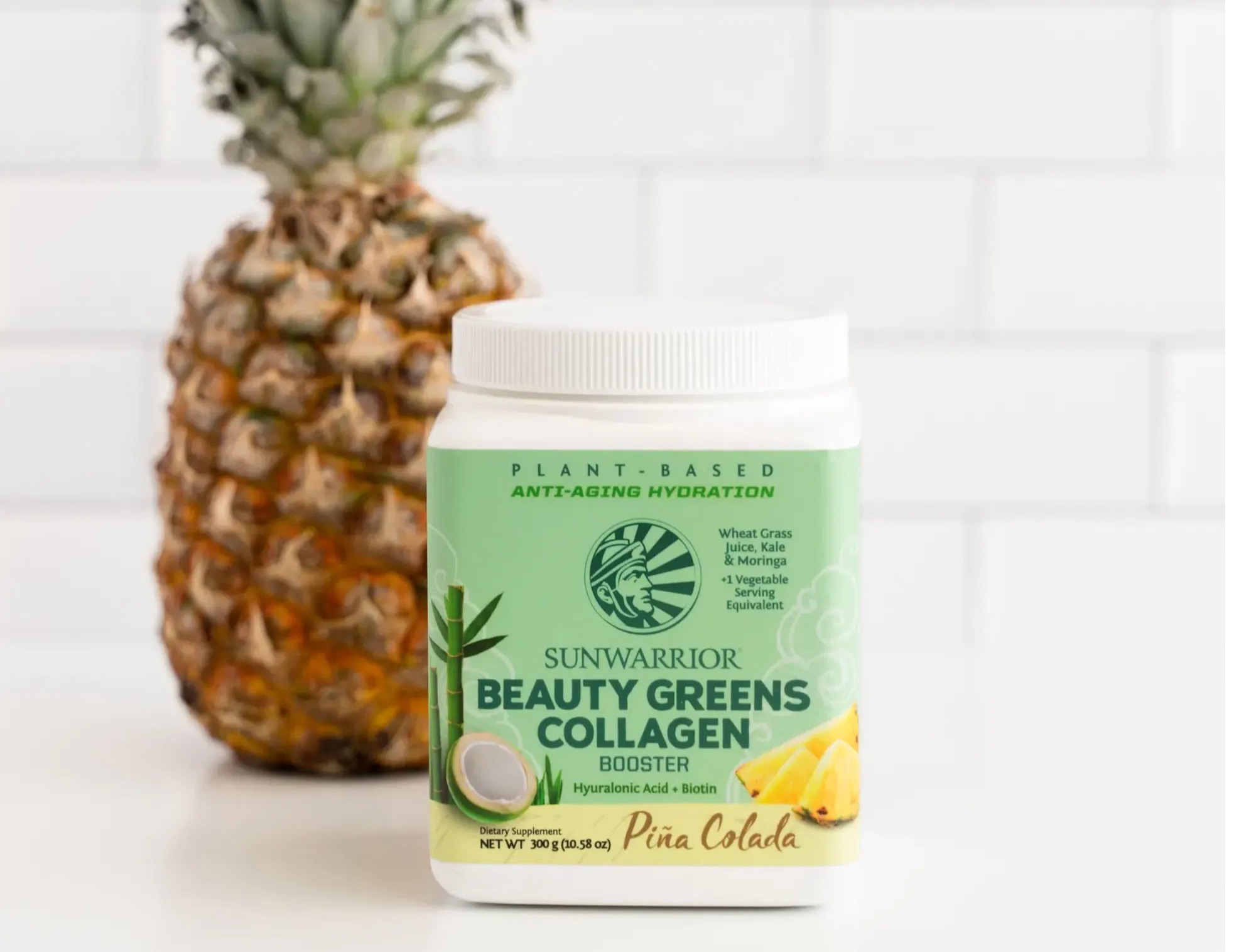 beauty greens vegan collagen builder booster