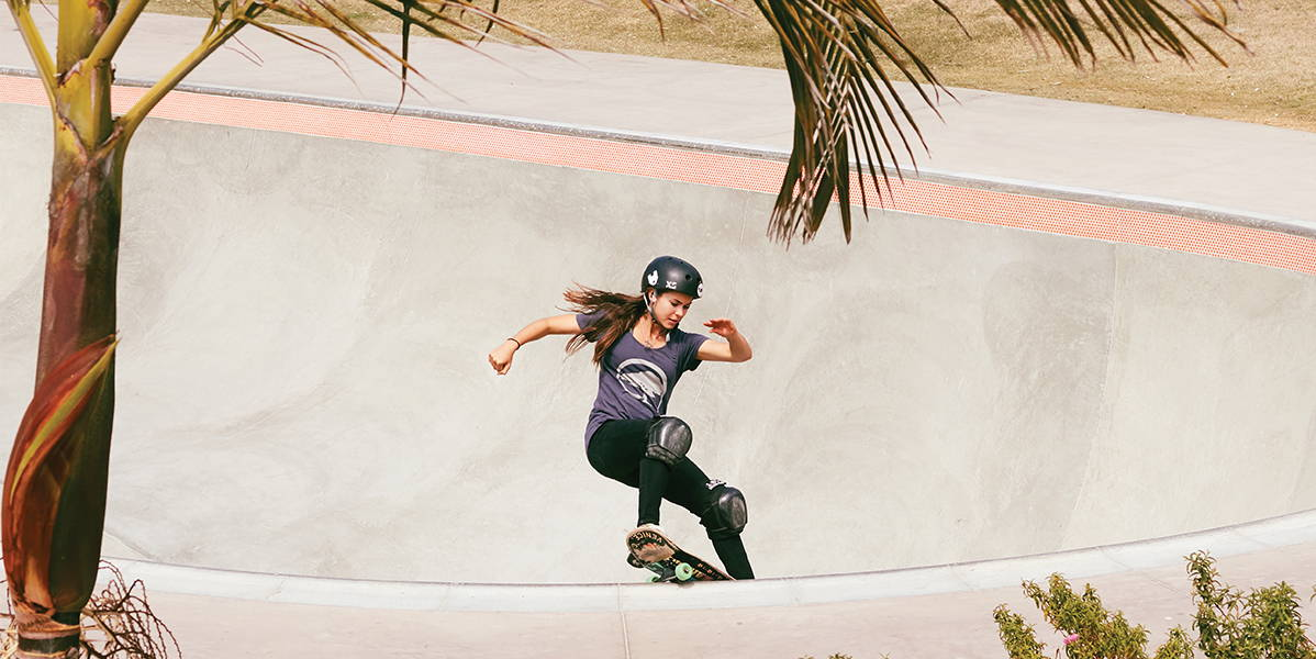 Amelia Brodka Skateboarding