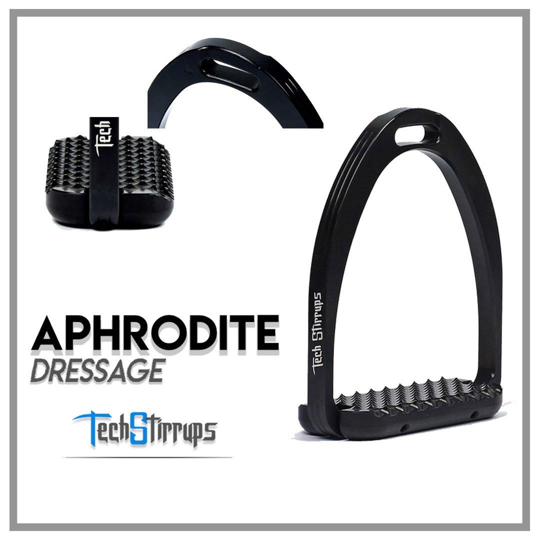 Aphrodite Dressage Tech Stirrups