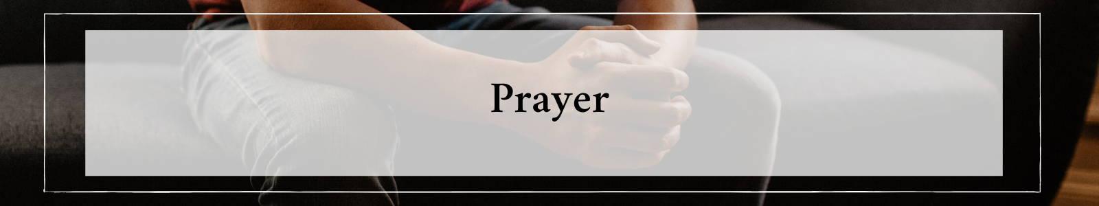 Prayer Studies