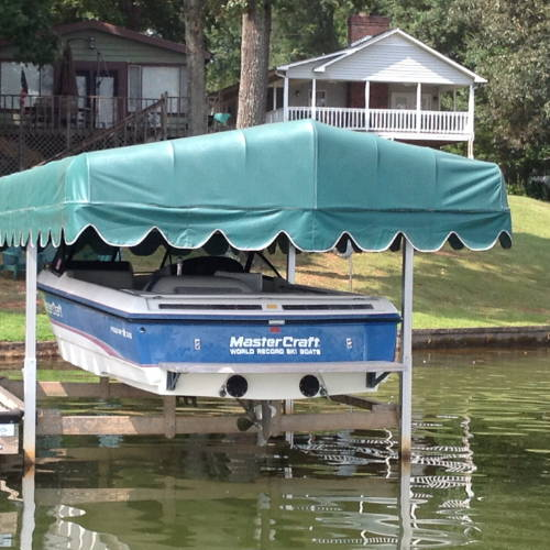 Hewitt Replacement Boat Lift Canopy Covers