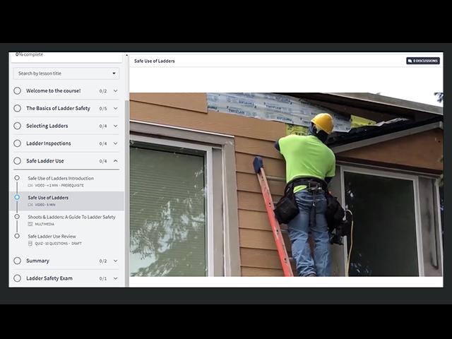 Ladder Safety Online Course