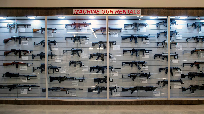 full auto machine gun