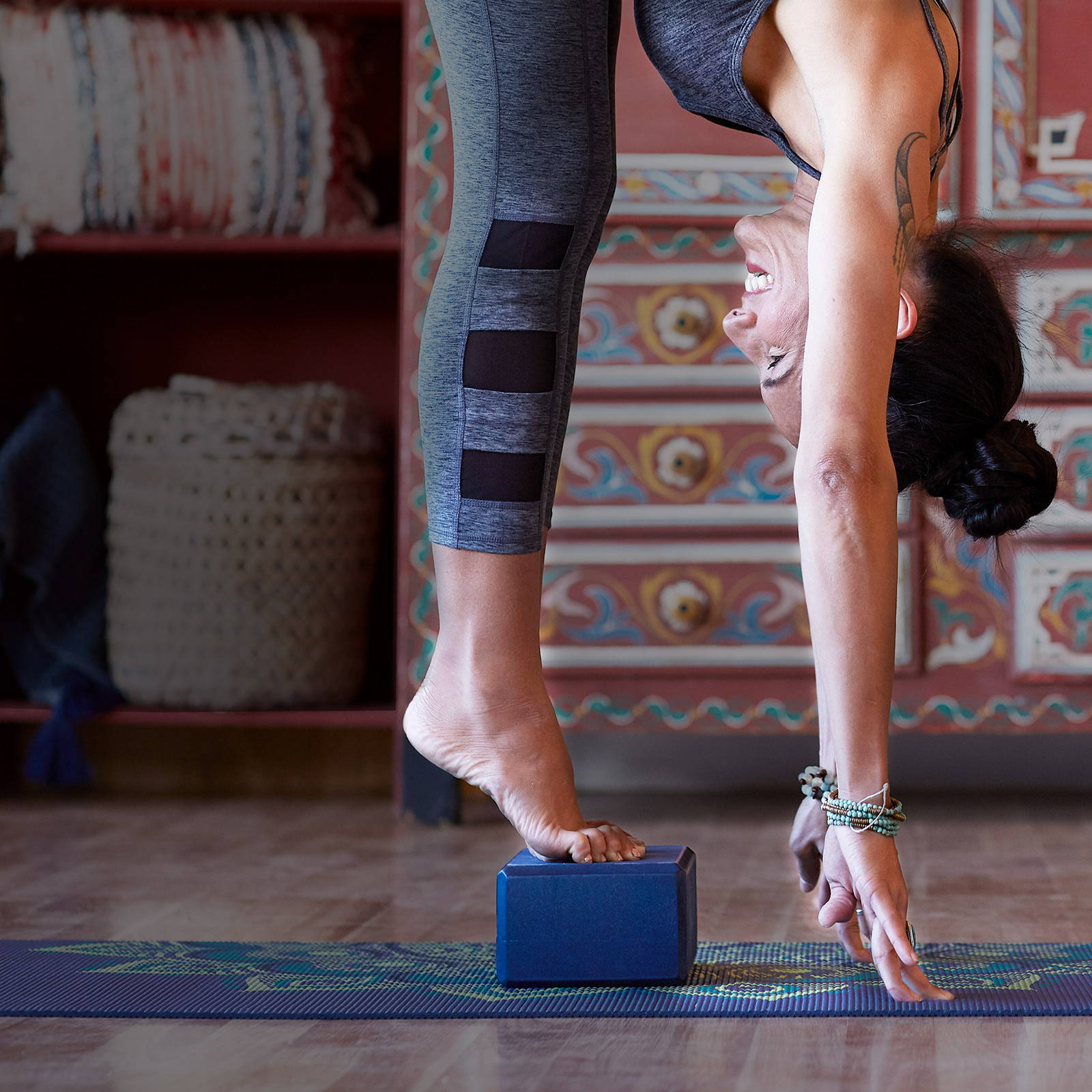 shop the $3 yoga block sale