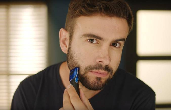 Trim your facial hair