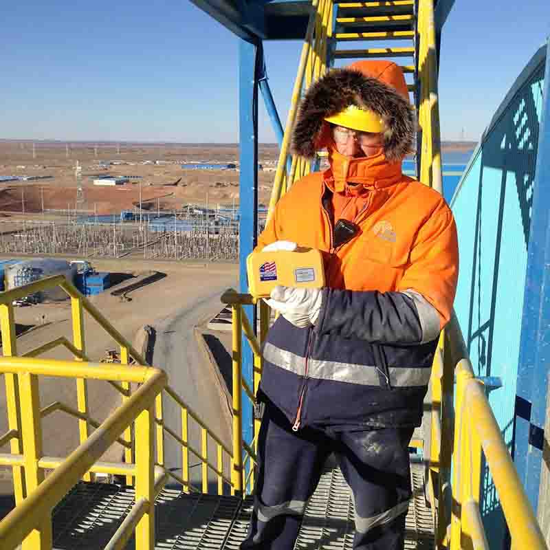 Chapman tools on an oil rig in Mongolia