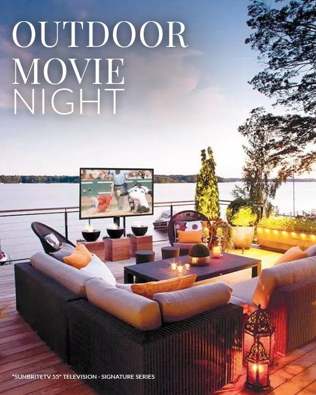 Outdoor Movie Night Essentials