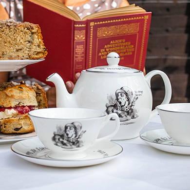 British Library - Alice in Wonderland home range