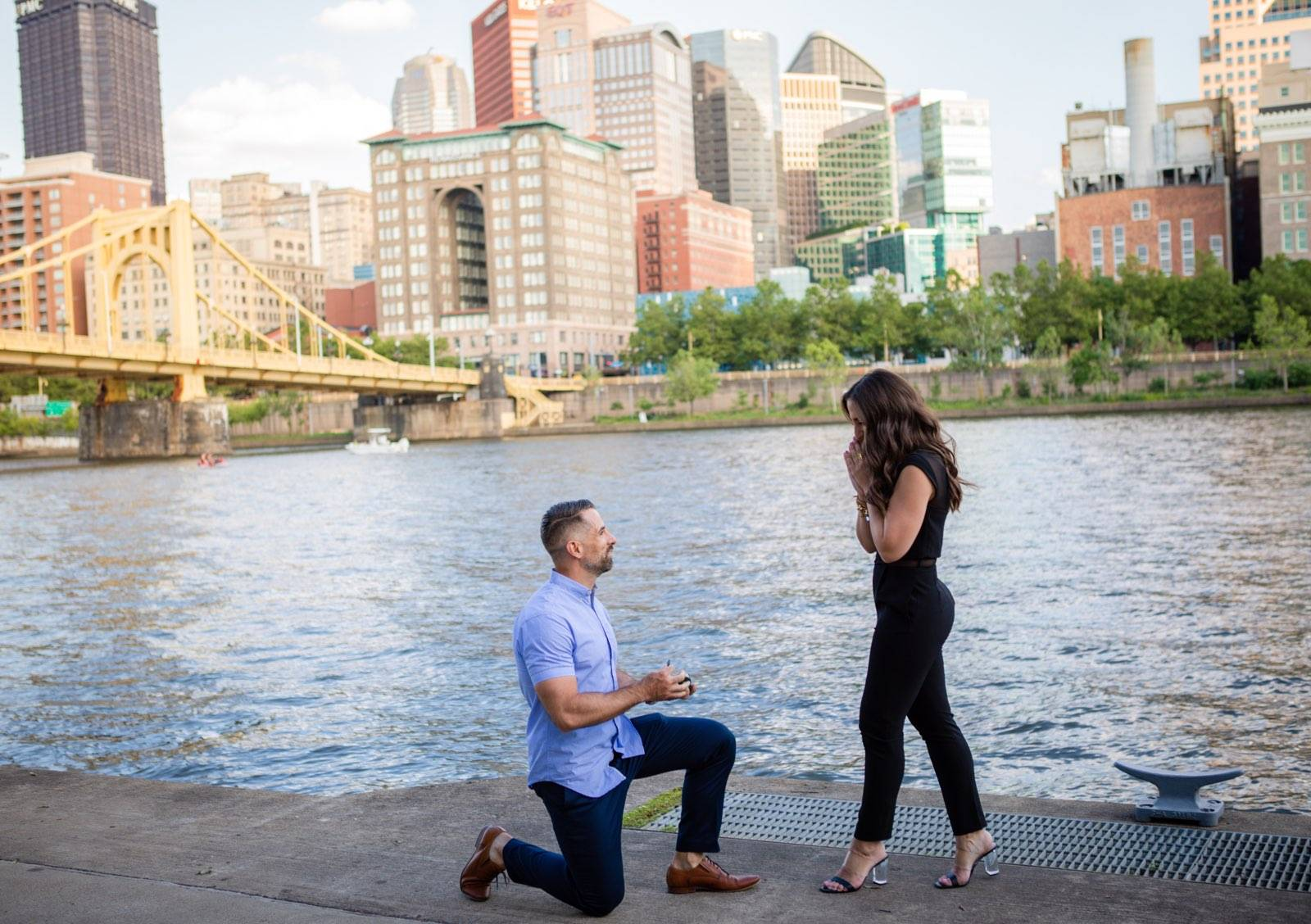 Martin Proposes to Amanda with an Engagement Ring from Henne Jewelers
