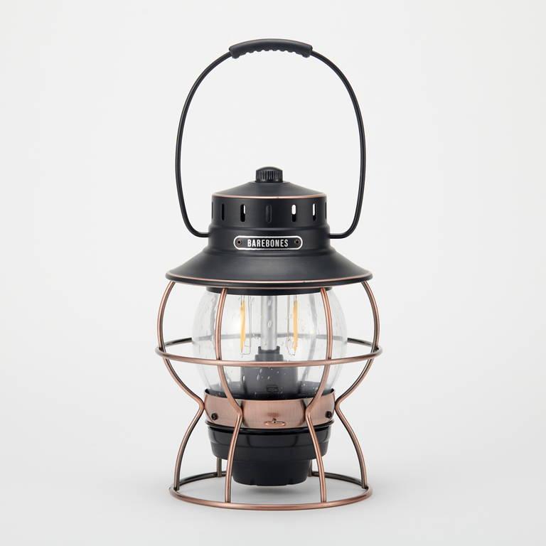 BAREBONES(ベアボーンズ)/レイルロードランタン LED/ブロンズ
