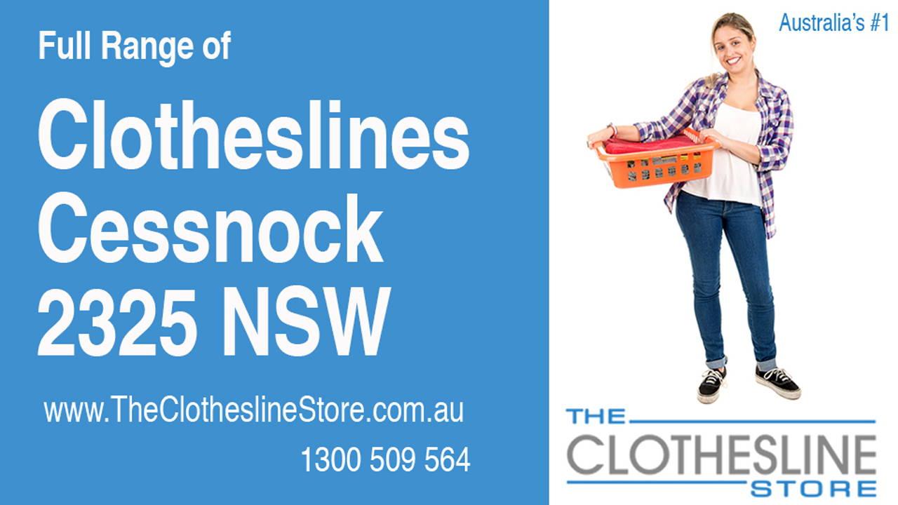 Clotheslines Cessnock 2325 NSW