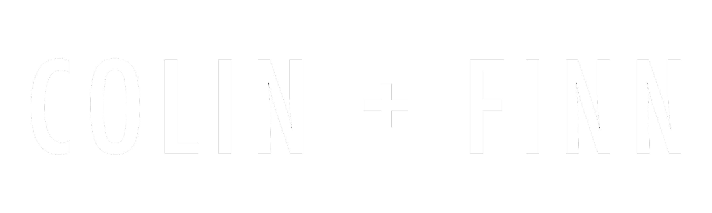 Colin + Finn logo