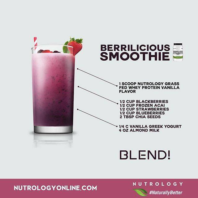 Nutrology Berrilicious Smoothie Recipe
