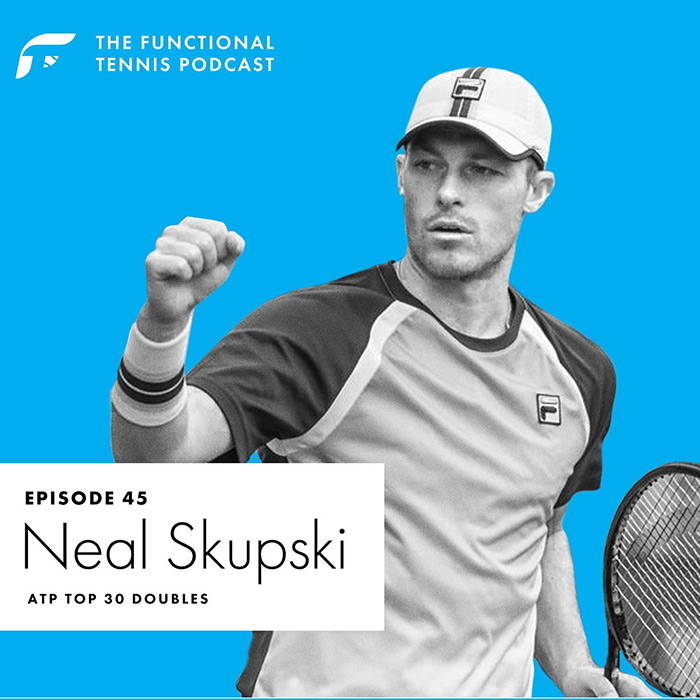 Neal Skupski on the Functional Tennis Podcast