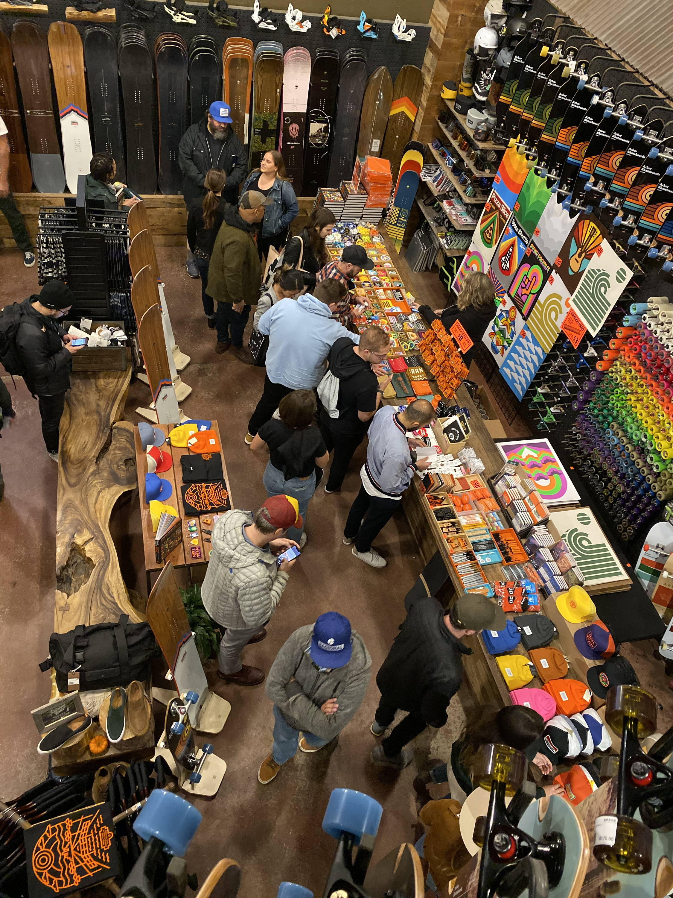 Aaron Draplin Design Shop Takeover at Arbor Venice
