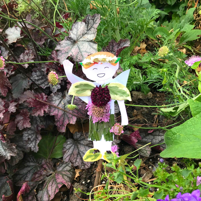 DIY Pixie in the garden