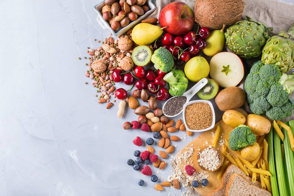 fruits and vegetables Top the Food Pyramid
