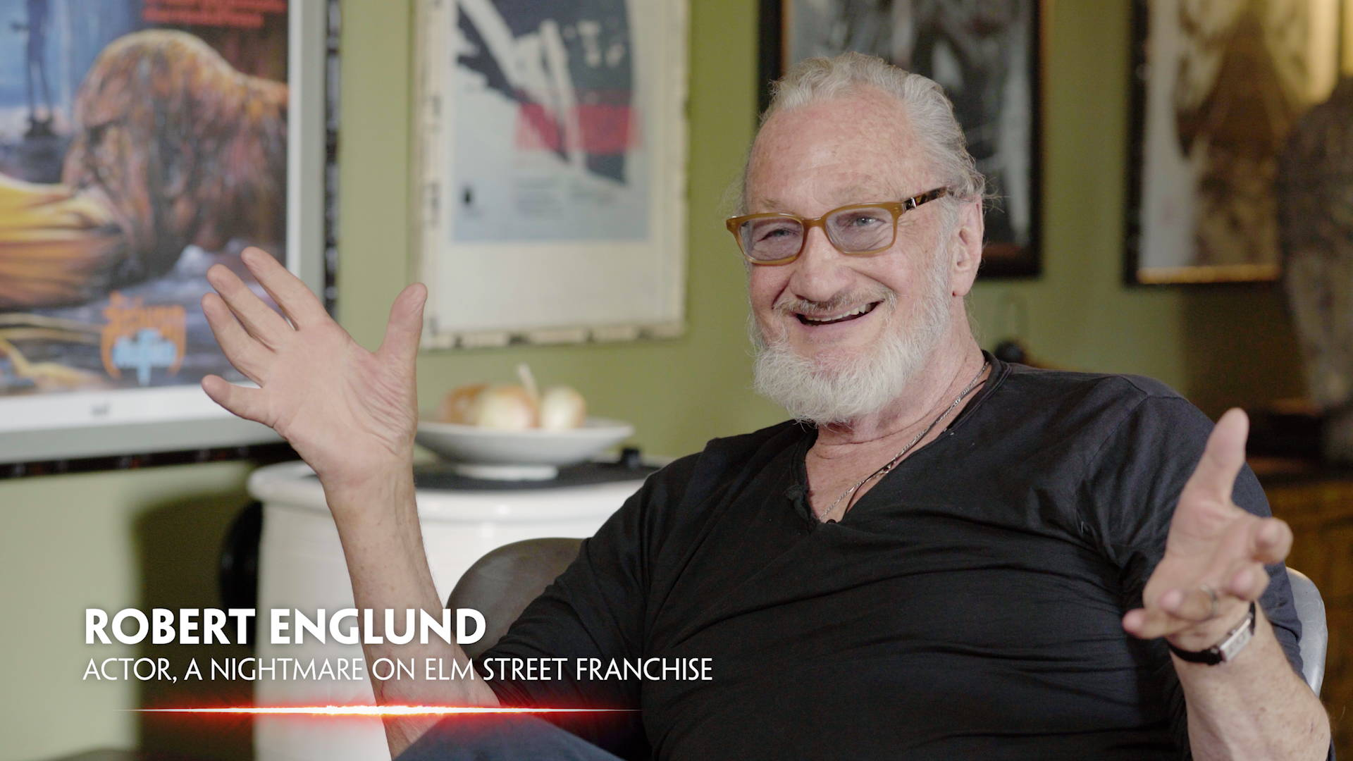 Robert Englund interviewed for In Search of Darkness: Part II