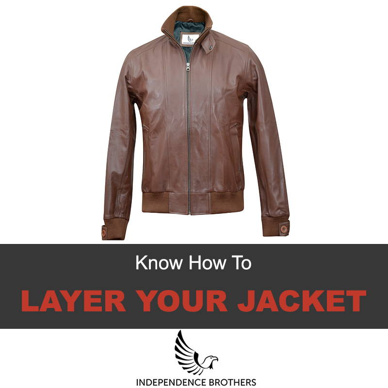 How to layer a jacket
