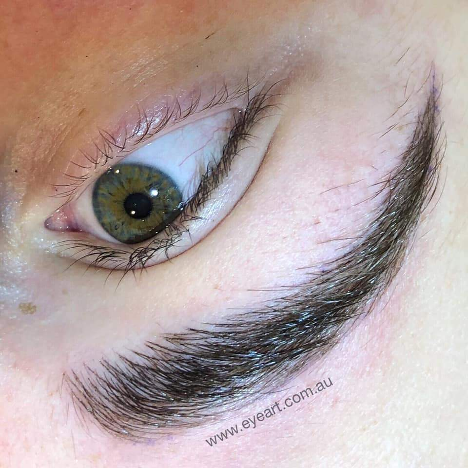 Eyebrow Feathering Tattoo by Eye Art Studio