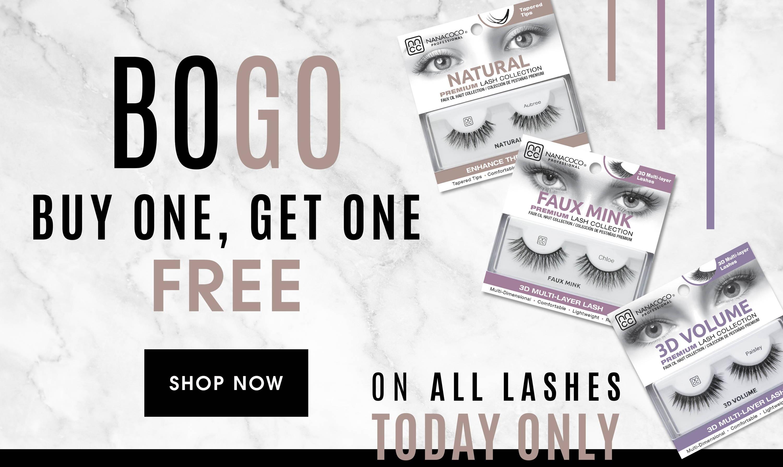bogo free false eyelashes