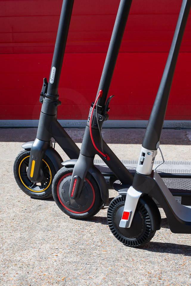 Unagi Model One Scooter Review 比較了電機輪