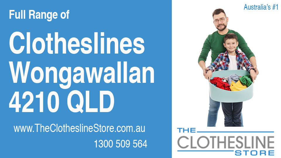 New Clotheslines in Wongawallan Queensland 4210