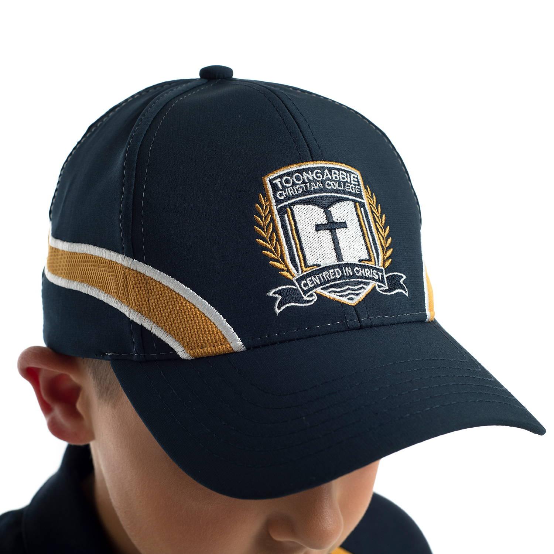 Custom sports cap for Toongabbie Christian College by Valour Sport