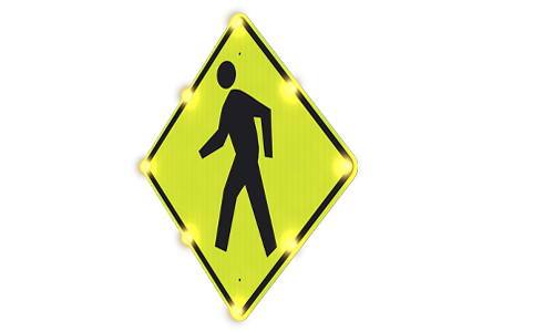 Single-Sided Blinkersign