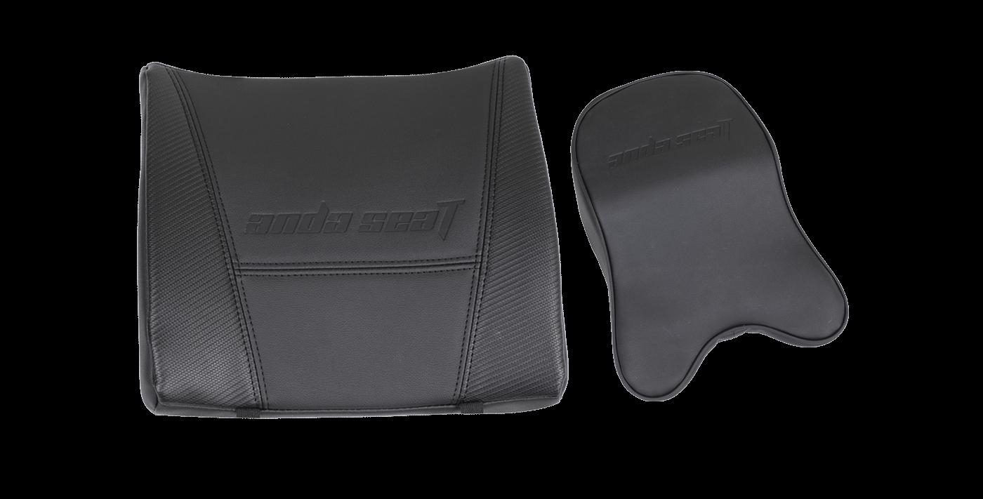 large memory foam neck pillow & lumbar support