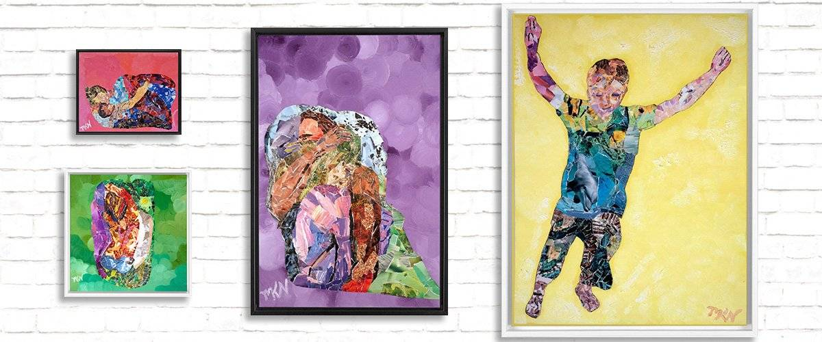 Framed Collage Canvas Prints