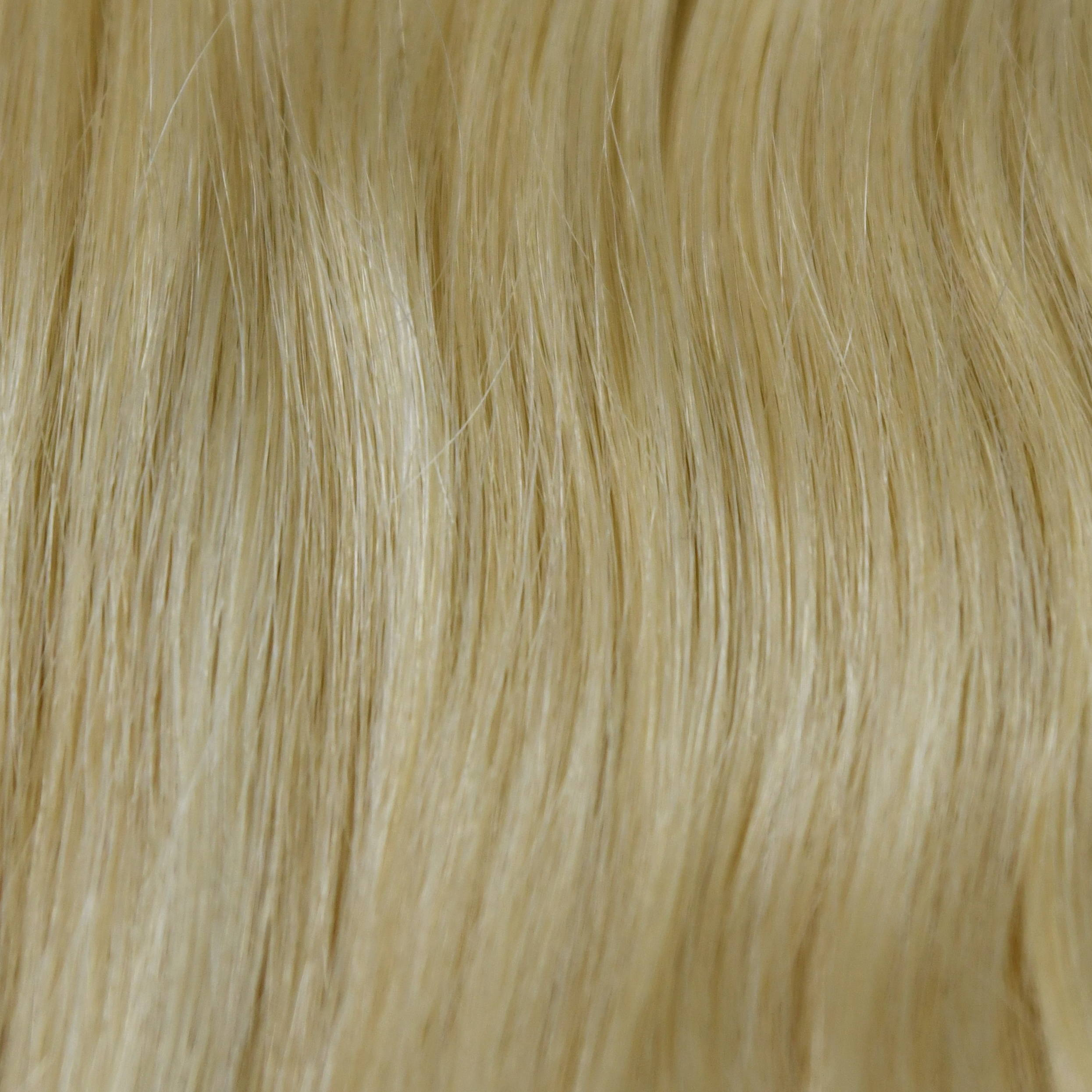 natual Blonde color hair help to choose hair extensions color in hair color chart