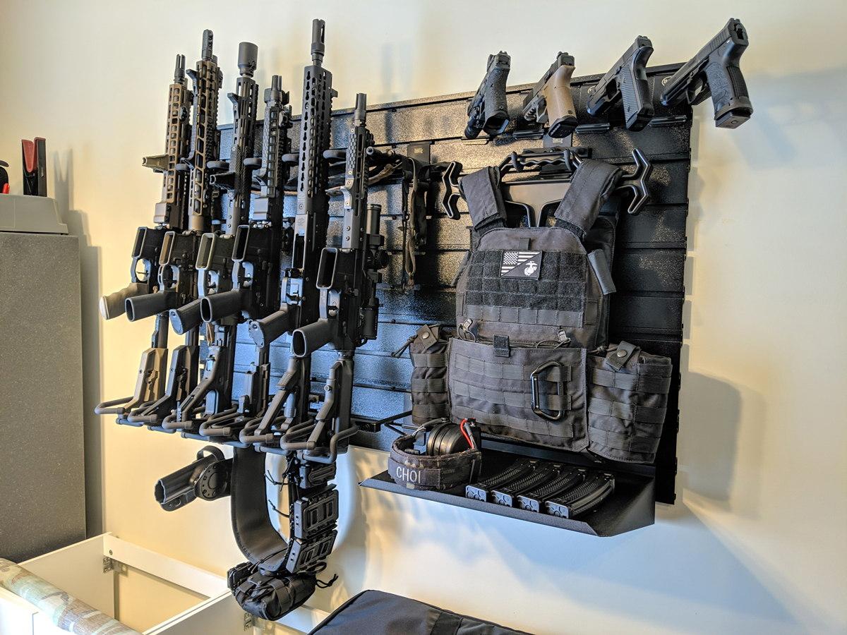 Gun Racks And Firearm Wall Displays