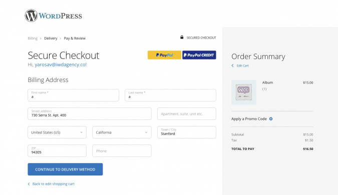WooCommerce Checkout Suite Addon 1