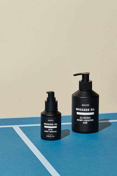 Mendi Massage Oil Bottles