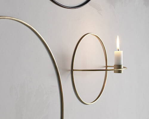 Contemporary candle holders from MENU.